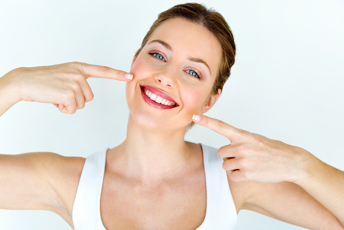 Show Invisalign smile