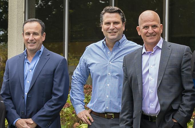 Dr. Sam Mufson, Dr. Joseph Lota, and Dr. Christopher Lota
